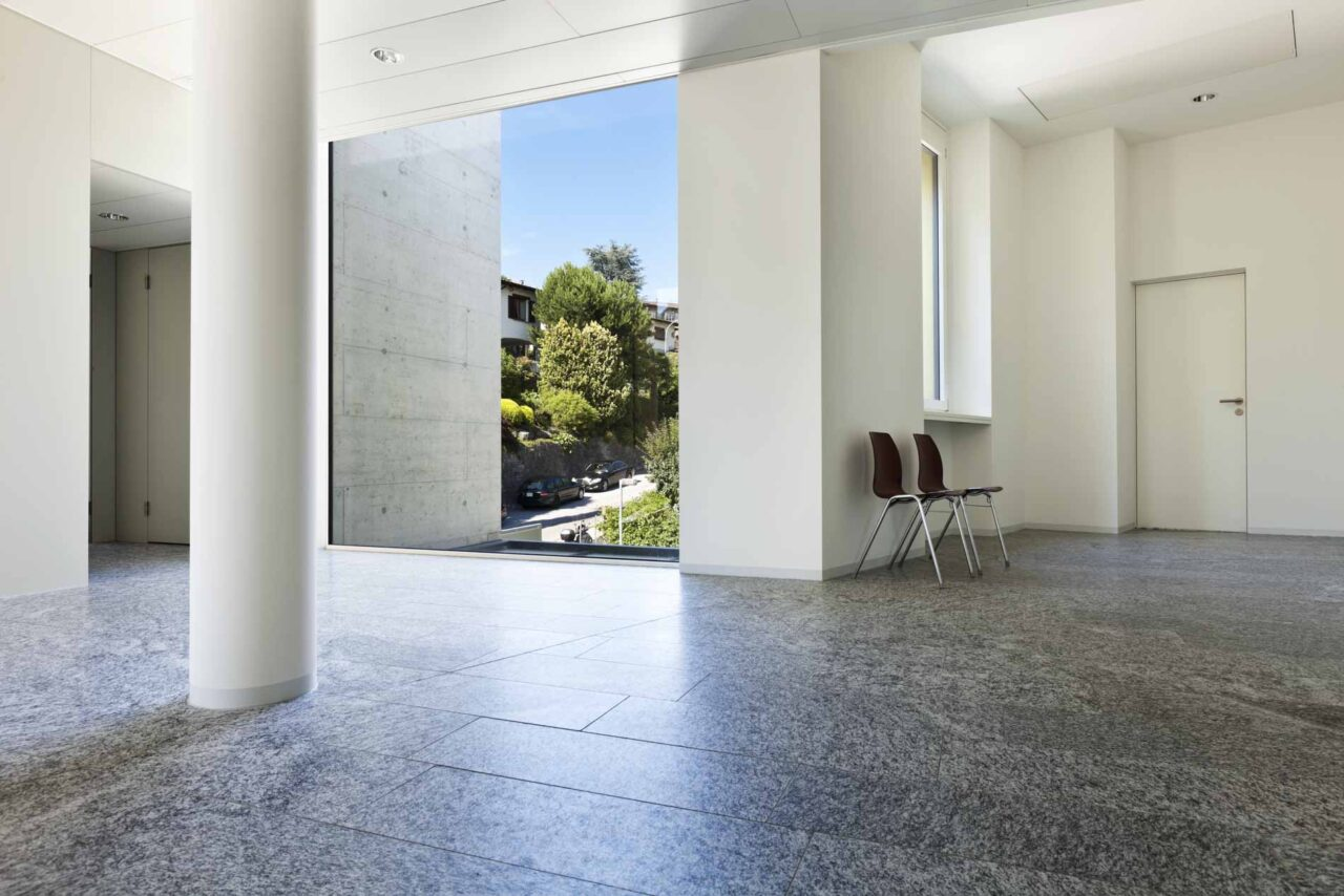 Building,Interior,,Granite,Floor,,White,Wall